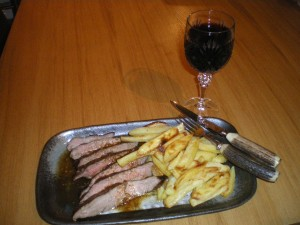 Steak and chips 009