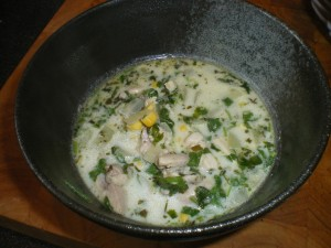 Thai Chicken Soup 020