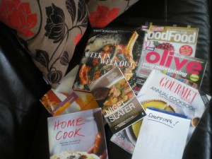 cookery books and planning 005